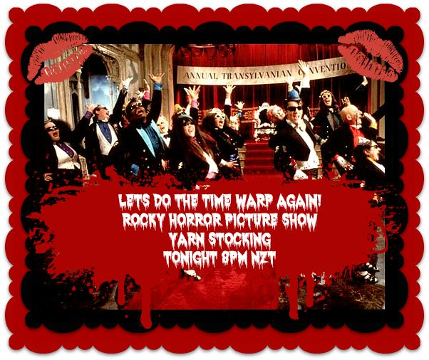 Rocky Horror Picture Show | Red Riding Hood Yarns