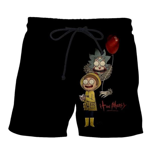 0a7383ae73 Rick & Morty | Summer Gear | Rick, morty, Swim trunks, Shorts