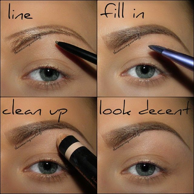 43 best Make Up - How To Apply (Brow) images on Pinterest