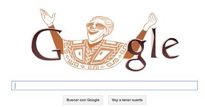 Google celebra el 94 cumpleaños de Chavela Vargas