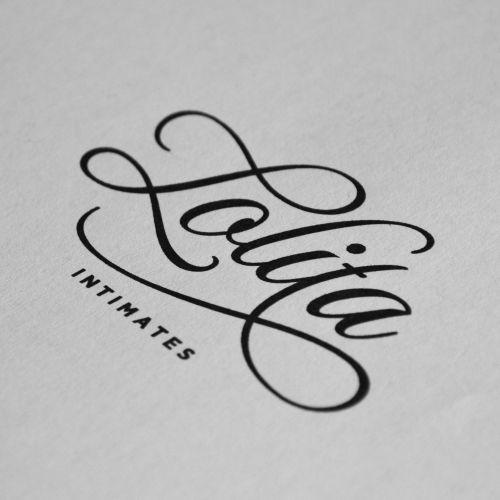Lolita José – www.jose-design.nl Wordmark for Lolita (intimates), lingerie.