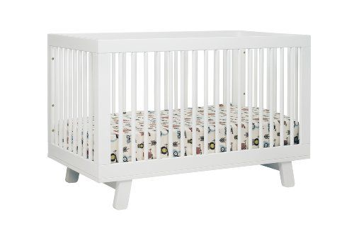 babyletto Hudson 3-in-1 Convertible Crib with Toddler Rail, White. Shopswell | Shopping smarter together.™