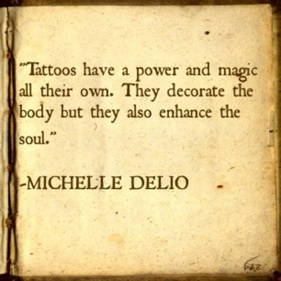 quotes about tattoos by Janny Dangerous