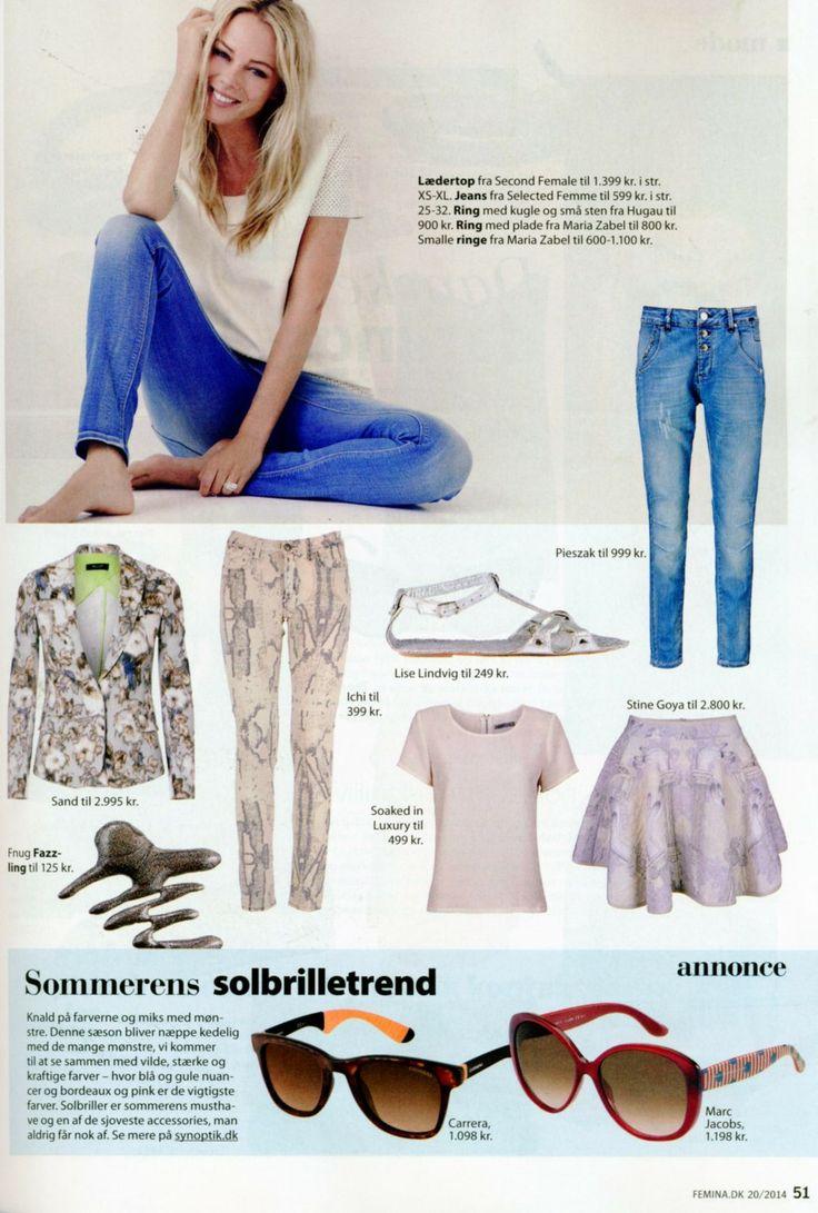 Soaked in Luxury t-shirt in danish magazine Femina