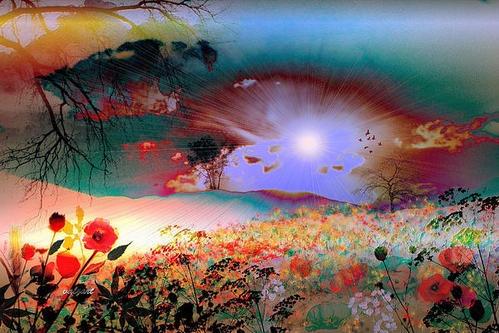 """Green Hills of Heaven"" by Valerie Ann Kelly"