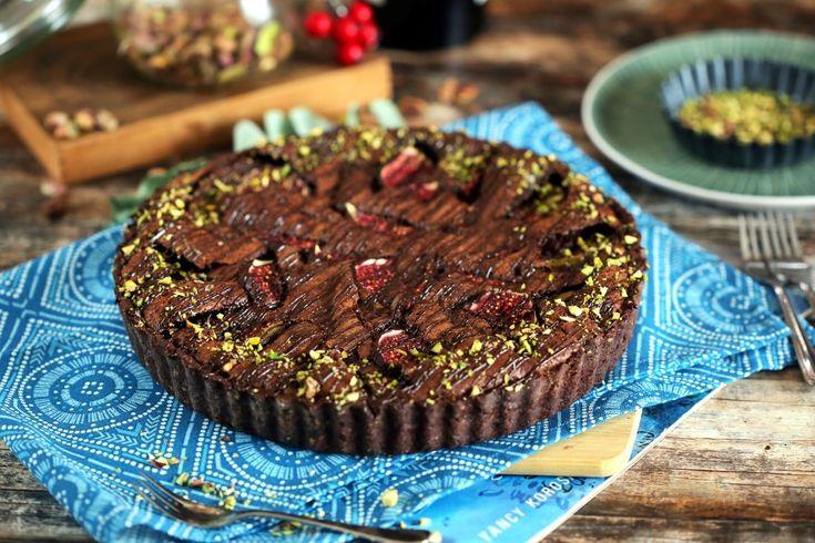 Csokihabos csokis pite fügével • Fördős Zé Magazin
