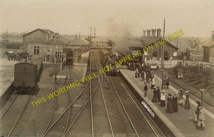 Ormskirk Railway Station Photo. Aughton Park to Burscough and Skelmersdale Lines