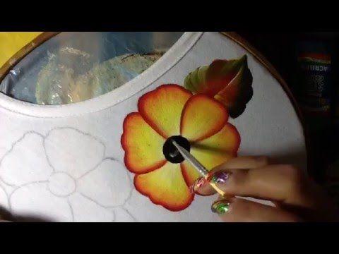 Pintura en tela Tucán # 2 con cony - YouTube