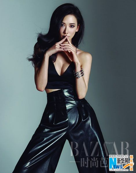 Actress Lin Chi-ling releases new fashion shots. [Photo/Xinhua]