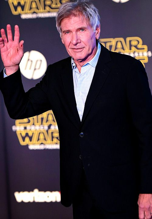 Harrison Ford at the Hollywood Premiere of Star Wars: Episode VII - The Force Awakens - 12/14/15