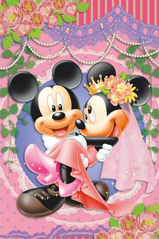 ディズニーカップルの代表格!ミッキーとミニー♡ イラストまとめ