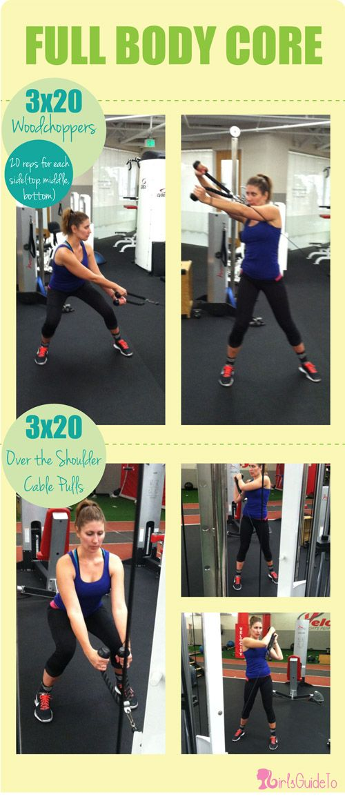 GirlsGuideTo   Workout Wednesday: Tighten Up With These 5 Cable Machine Exercises   GirlsGuideTo