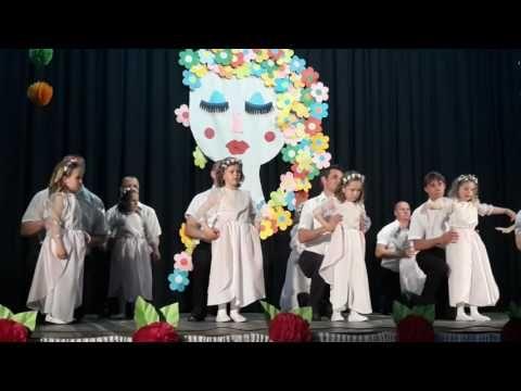 Deň matiek Tanec otcovia a dcéry- MŠ Nižný Hrušov - YouTube