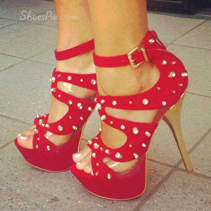 Red Cute Heels