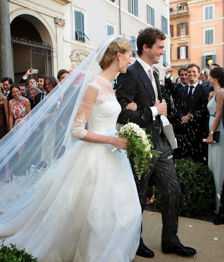 Mariage du Prince Amedeo de Belgique et Elisabetta