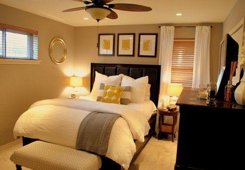 Master Bedroom traditional bedroom: Small Bedrooms, Guest Bedrooms, Bedrooms Design, Colors Schemes, Master Bedrooms, Guest Rooms, Smallbedroom, Bedrooms Ideas, Guestrooms