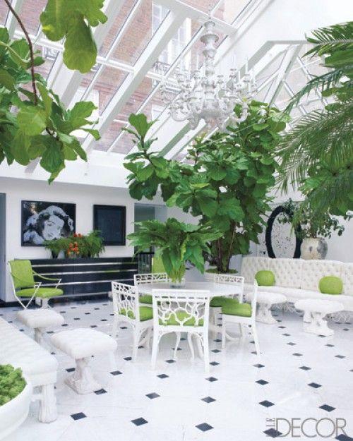 When I see big rooms of green, I involuntarily take a big refreshing gasp of air x
