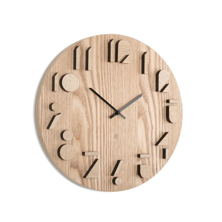 Art Meets Timepiece With The Umbra Shadow Wall Clock. This Designer Wooden  Clock Is Available To Buy From Red Candy. Amazing Pictures