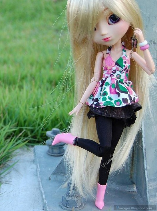 Cute doll fashionable barbie girl | 9images