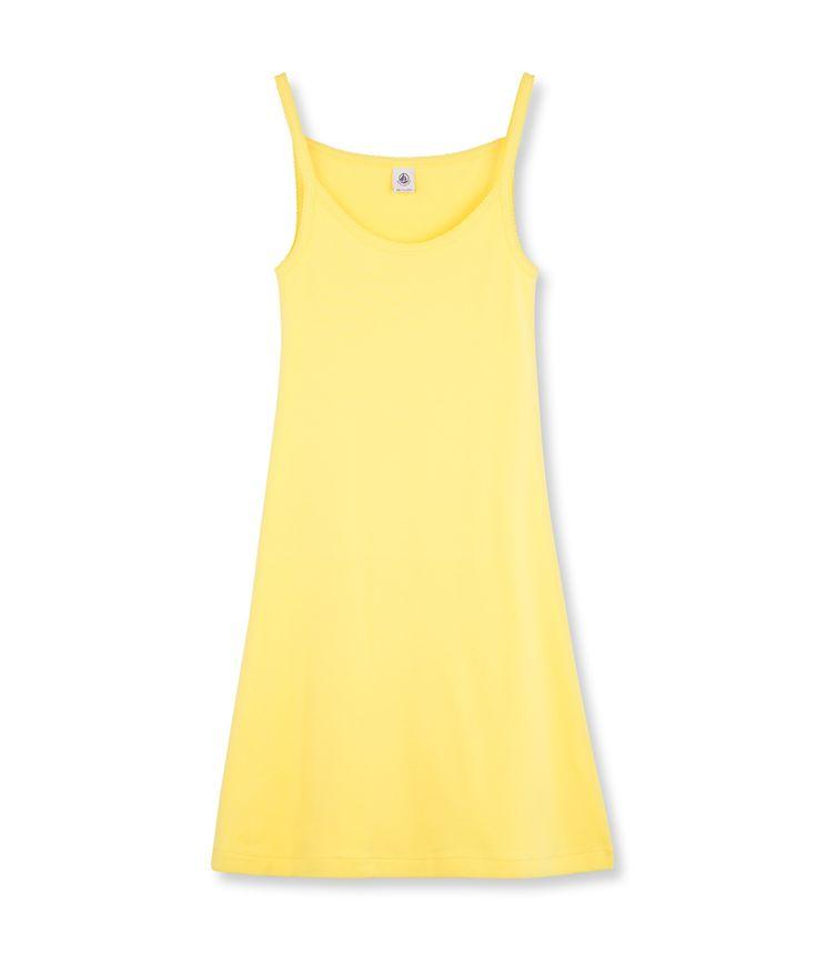 Nuisette femme en coton iconique jaune Dore - Petit Bateau