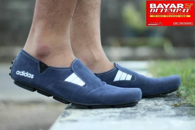 Sepatu Casual Pria Slip On Loafers Dvn Kerja Kuliah Sepatu Santai