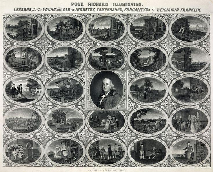 Oliver Pelton - Benjamin Franklin - Poor Richard's Almanac Illustrated - Poor Richard's Almanack - Wikipedia, the free…