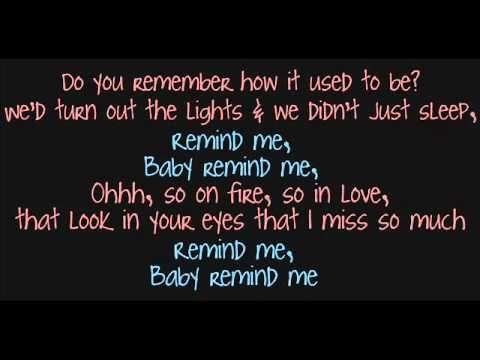 Brad Paisley & Carrie Underwood; Remind Me Lyrics ♥  I'm so sorry I hurt you D..Im sorry I broke your heart and broke us..