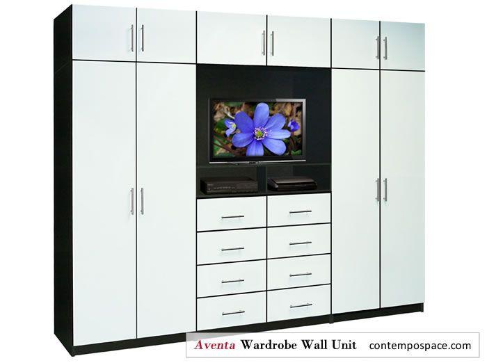 Aventa Wardrobe Wall Unit in White