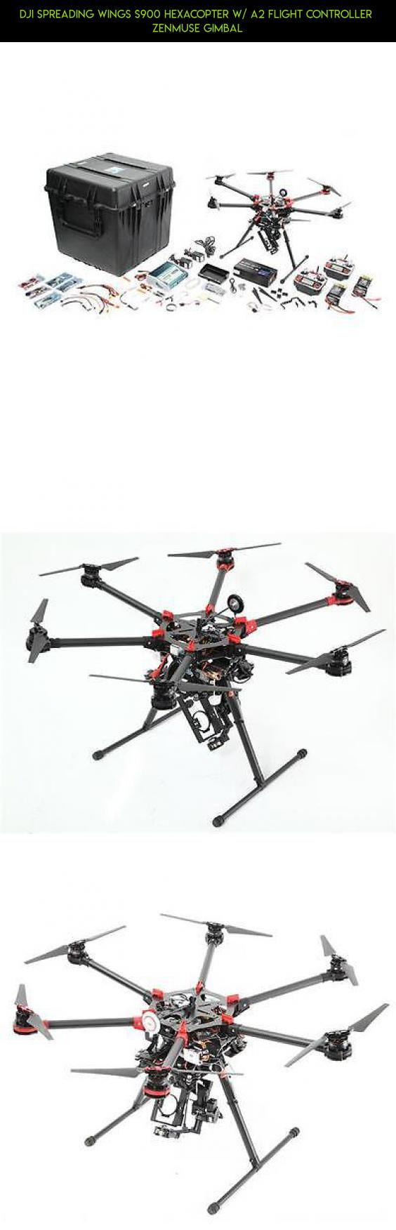 DJI Spreading Wings S900 Hexacopter w/ A2 Flight Controller  Zenmuse Gimbal #technology #s900 #tech #kit #plans #camera #products #gadgets #dji #shopping #parts #racing #drone #fpv