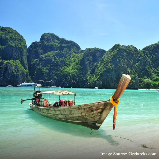 Would you believe if we told you this place is none other than our own India? Yes! These are the beautiful Andaman and Nicobar islands situated in the South-East of India