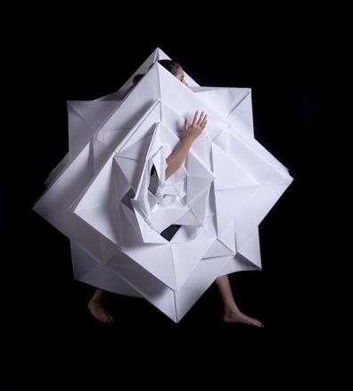 jun nakao, origami dress