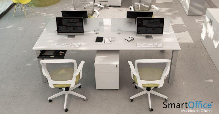-S-80 Workstation  -Una línea con destacada robustez y presencia, mirá más en http://smart-office.com.ar/producto/s-80-workstation/________________________________?utm_campaign=crowdfire&utm_content=crowdfire&utm_medium=social&utm_source=pinterest  #diseño #muebles #arquitectura #art