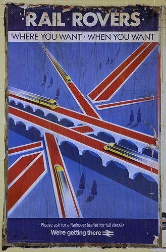 British Rail Poster - Rail Rovers.17