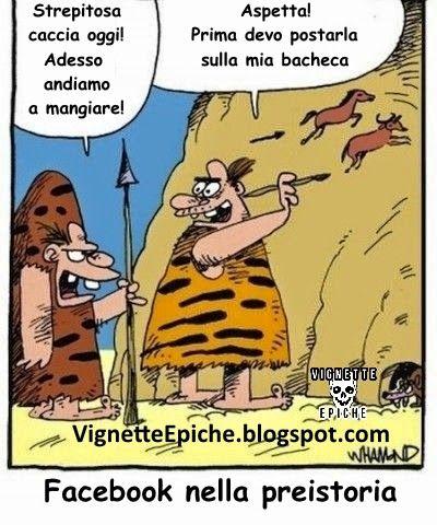 Vignette Epiche: Facebook dei tempi andati