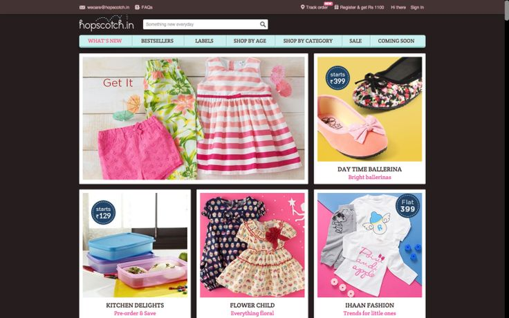 #HTE Hopscotch E-Commerce For Mums In India Lands $13M Led By Facebook Co-Founder Saverin Hopscotch an India-b