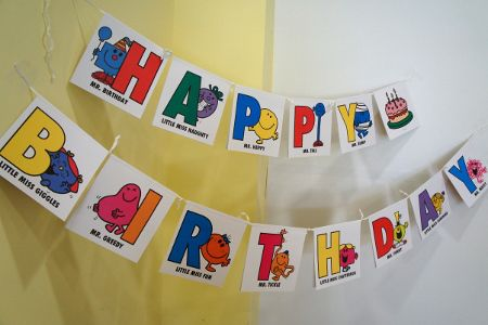 Mr Men & Little Miss birthday party ideas