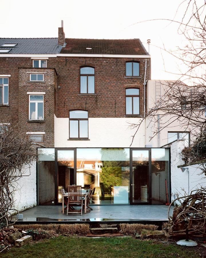 New Groen in huis daan de volder architects
