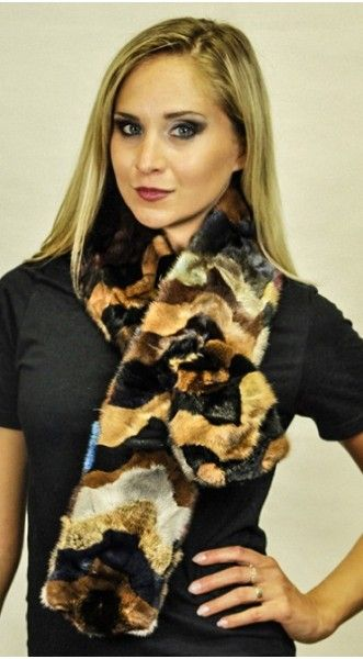 Winter can't stop you to become stylish. Try fur accessories which will give you comfort and a classy look. New arrivals of Mink fur scarves available for women. #furfashion #womenfur #Minkfurscarves