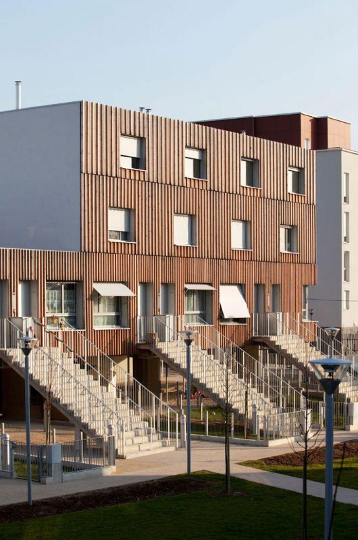 Tvk projets street entrance pinterest paris for Projet architecture paris