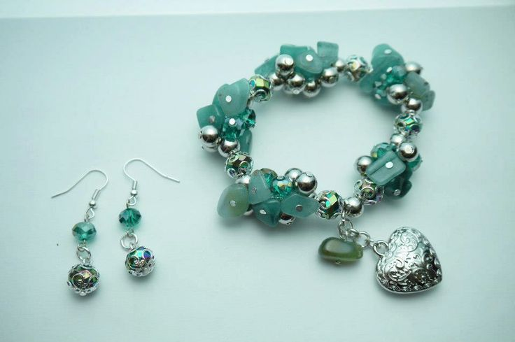 agua marina bracelet
