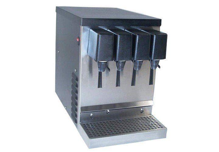 Willtec 4 Flavor Refrigerated Soda Juice Dispenser Juice