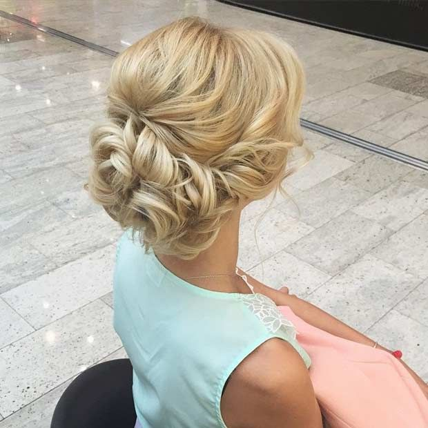 Awesome 1000 Ideas About Blonde Updo On Pinterest Hairstyles Updo Short Hairstyles For Black Women Fulllsitofus