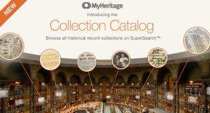 MyHeritage Introduces Collection Catalog   Family Tree   Bloglovin'