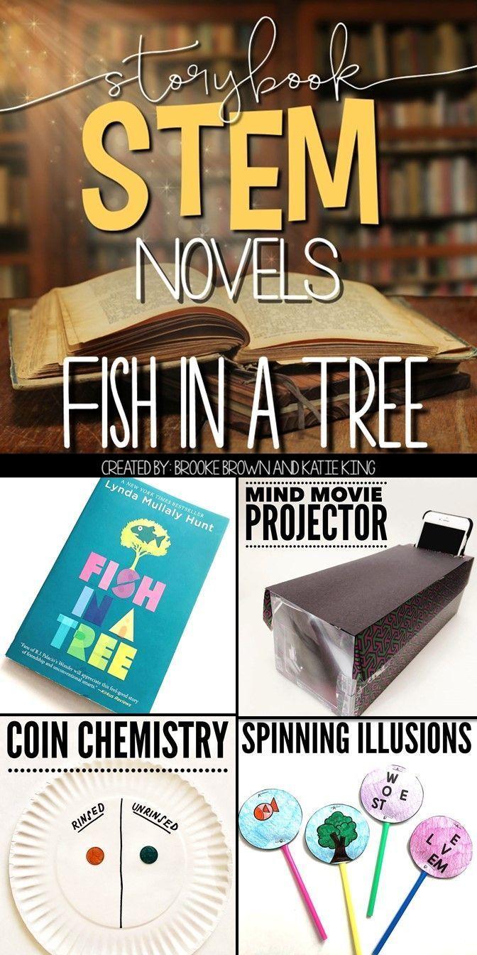 Fish In A Tree Storybook Stem Novel Reading Books Grammar