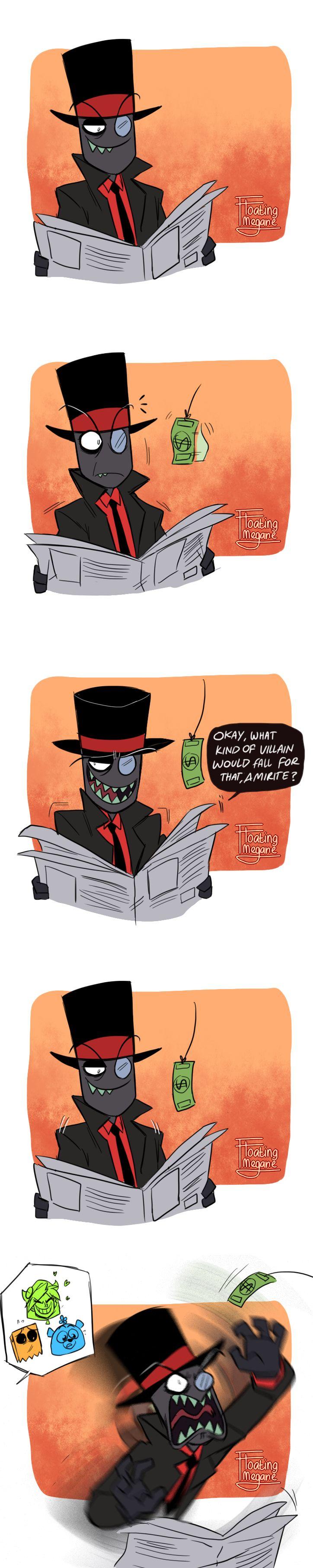 She wants the Big Black Hat | Villanos | Know Your Meme