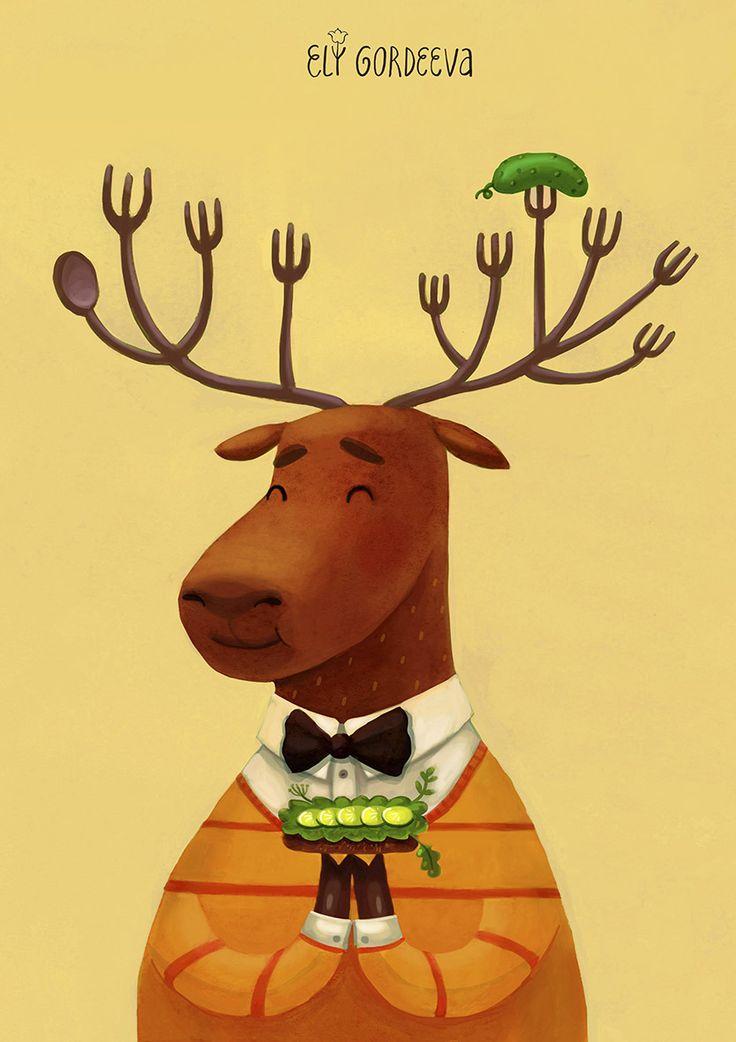 Deer/Олень