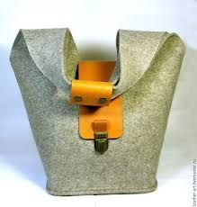Картинки по запросу выкройка сумки из фетра