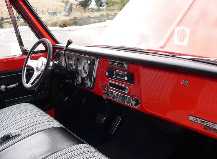 Chevy C 10 Pick Up Interior