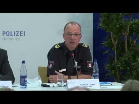 G20: Pressekonferenz der Polizei Hamburg