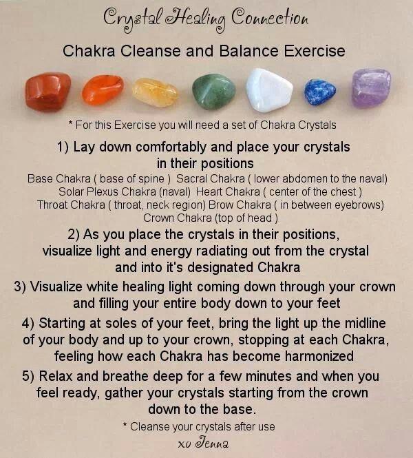 Chakra Cleanse & Balance Exercise